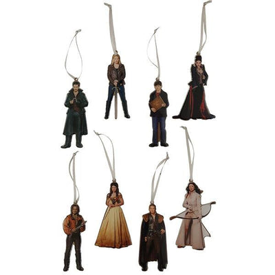 Once Upon a Time Metal Ornaments Set of 8 - Icon Heroes
