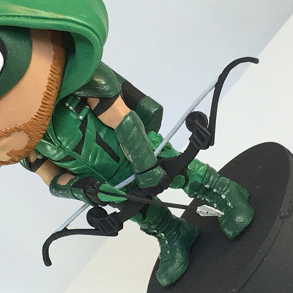 Green Arrow TV Animated Statue - Exclusive - Icon Heroes