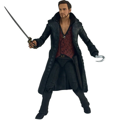 "Once Upon a Time Hook 6"" Scale Action Figure - Icon Heroes"