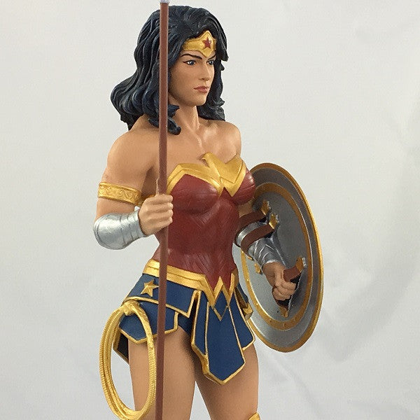 DC Comics Wonder Woman with Spear Rebirth Statue (SDCC 2017 Exclusive) - Icon Heroes