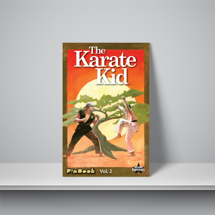 The Karate Kid PinBook Vol. 2 - Available 4th Quarter 2020
