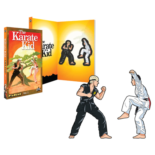 Karate Kid Pins Daniel Johnny Ralph Macchio William Zabka PinBook Icon Heroes