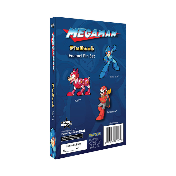 Mega Man PinBook Vol. 1 - Available 4th Quarter 2020 - Icon Heroes