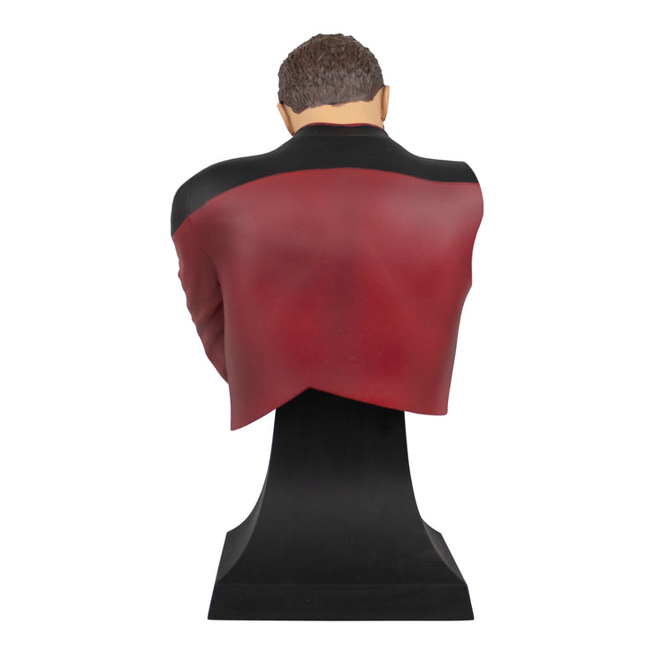 Star Trek The Next Generation Commander Riker Facepalm Mini Bust Paperweight - SDCC Exclusive - Icon Heroes