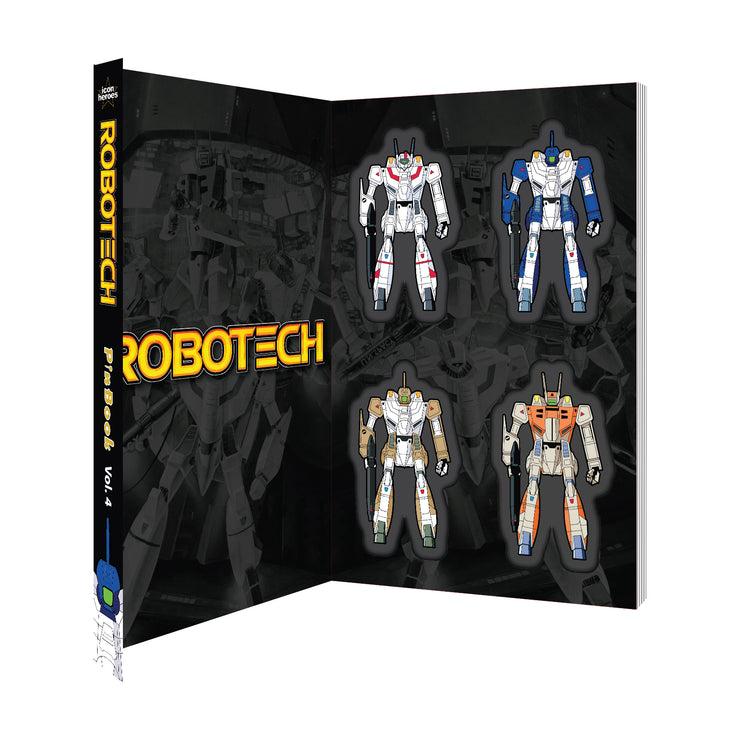 Robotech PinBook Vol. 4 - Available 4th Quarter 2020 - Icon Heroes