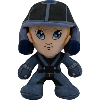 "Robotech Roy Fokker 10"" Plush Doll - Icon Heroes"