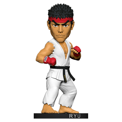 Street Fighter Ryu Polystone Bobblehead - Available 1st Quarter 2021 - Icon Heroes