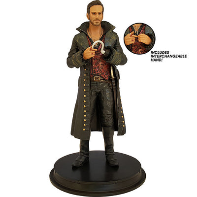 SDCC 2016 Exclusive Once Upon a Time Hook (Killian Jones) Statue - Icon Heroes