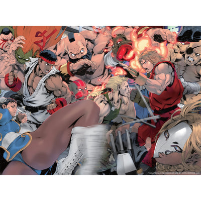 Street Fighter Jigsaw Puzzle by Akiman - Icon Heroes