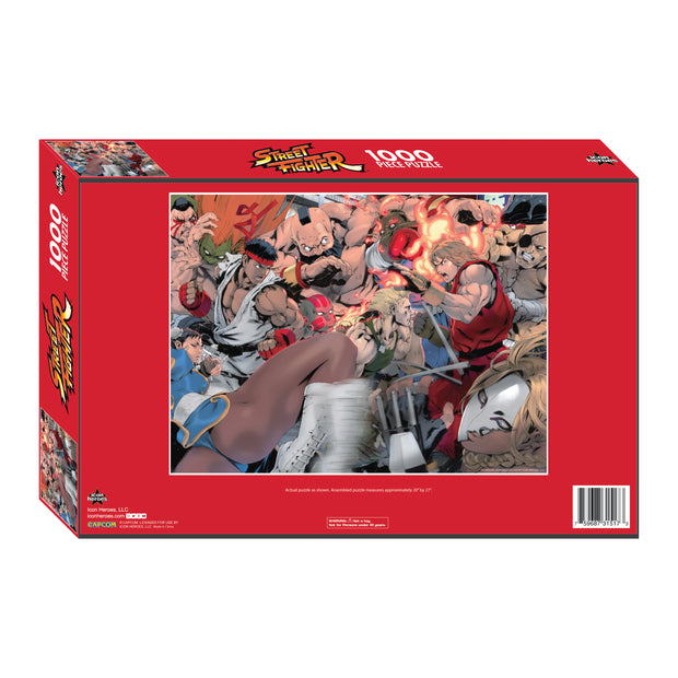 Street Fighter Jigsaw Puzzle by Akiman - Available 1st Quarter 2021 - Icon Heroes