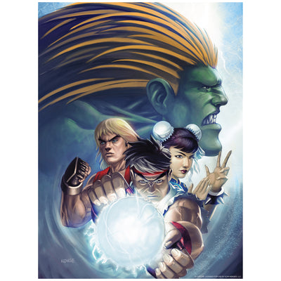 Street Fighter Jigsaw Puzzle by Lee Kohse - Available 4th Quarter 2021 - Icon Heroes
