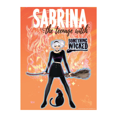 Sabrina the Teenage Witch 'Something Wicked' Jigsaw Puzzle - Available 1st Quarter 2021 - Icon Heroes