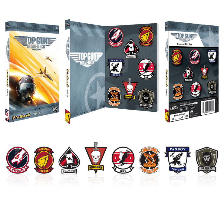 Top Gun Maverick PinBook Vol. 8 - Available 1st Quarter 2021 - Icon Heroes