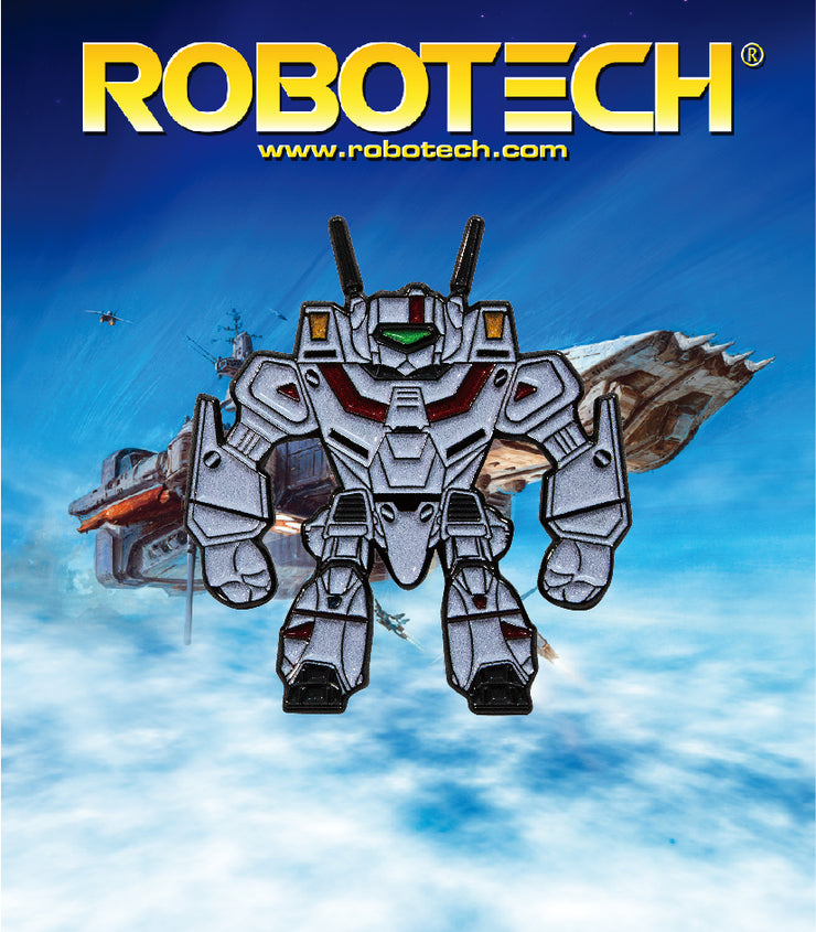 Robotech VF-1J Rick Hunter Enamel Pin - Exclusive - Icon Heroes
