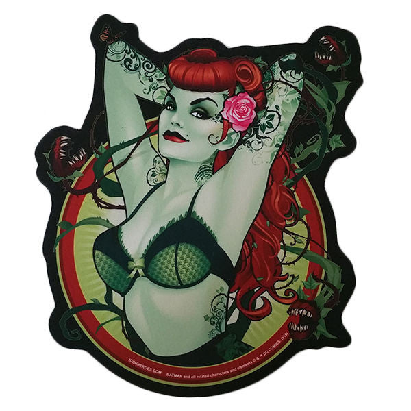 DC Comics Bombshells Poison Ivy Mouse Pad - Icon Heroes
