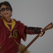 Harry Potter in Quidditch Uniform PVC Figure - Icon Heroes