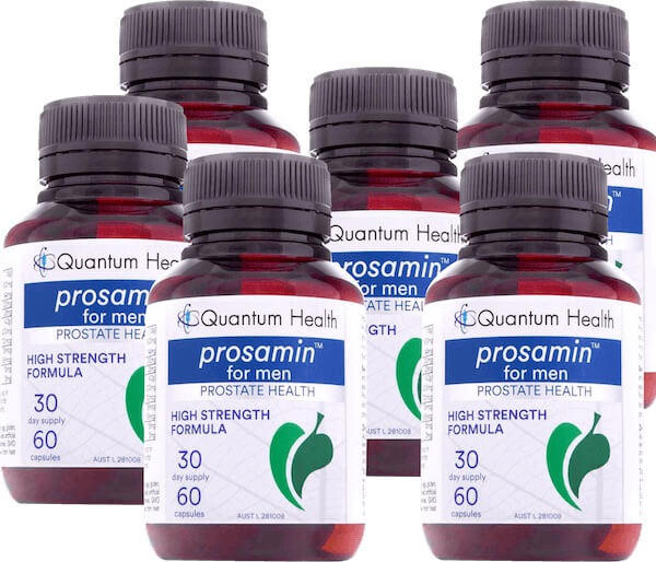 Prosamin For Men - High Strength Formula by Quantum Health - 6 Month Supply Offer