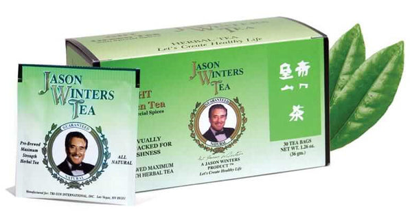 Green Tea with Original Formula (G.H.T.) Tea Bags (QTY 30) - Sir Jason Winters