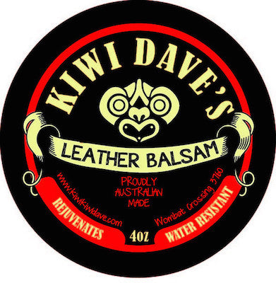 Kiwi Dave's Leather Balsam (100mL) Tin