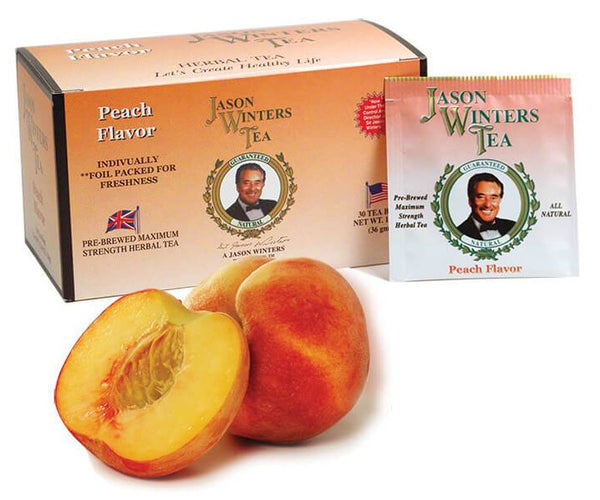 Peach Flavored Original Formula Tea Bags (QTY 30) - Sir Jason Winters