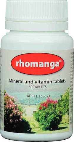 Rhomanga (60 tablets) -  Percy Weston