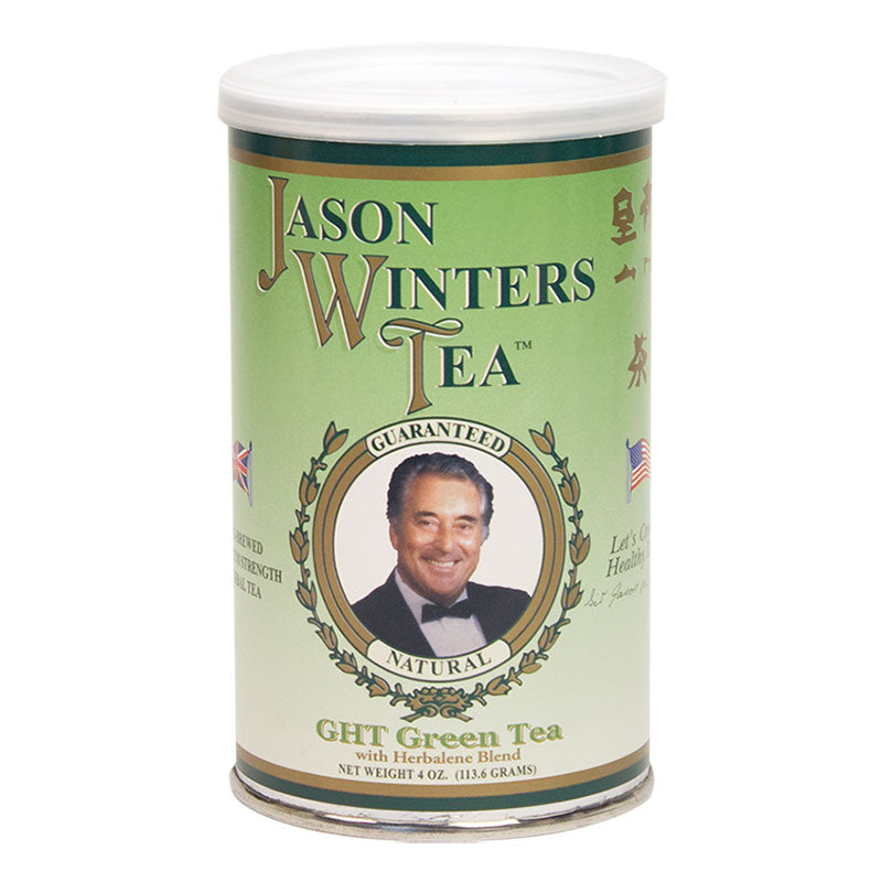 Pre-Brewed Green Herbal Tea Blend 4oz (113.6g) - Sir Jason Winters