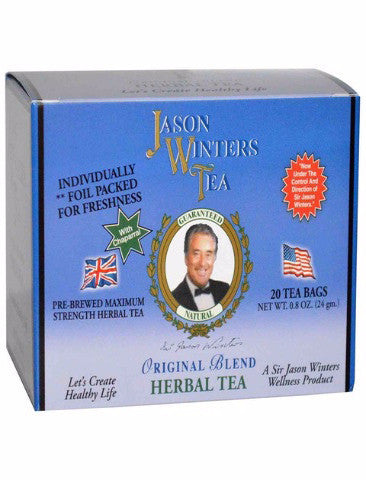 Pre-Brewed Chaparral Original Tea Bags (QTY 20) - Sir Jason Winters