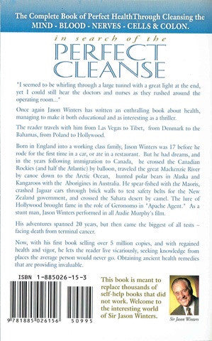 Death Begins in the Colon: Perfect Cleanse by Sir Jason Winters - Book
