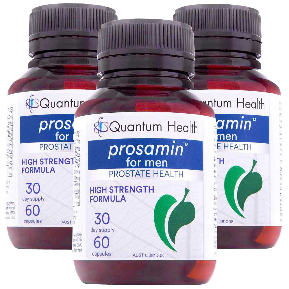 Prosamin For Men - High Strength Formula by Quantum Health- 3 Month Supply Offer