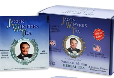 Pre-Brewed Sage Original Tea Bags (QTY 20) - Sir Jason Winters