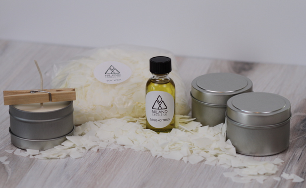 Sage+Citrus DIY Candle Kit