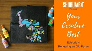 YOUR CREATIVE BEST: Renewal of an Old Purse using Coneliners