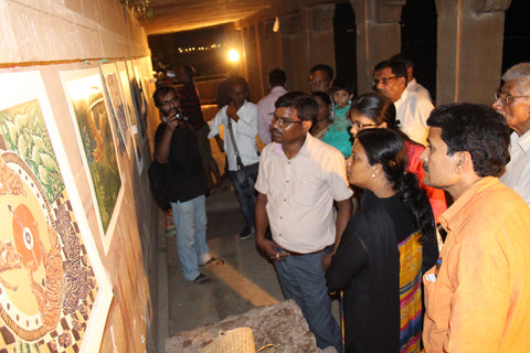 Exhibition at Ghat Sandhya by Sadhana