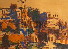 Load image into Gallery viewer, A Painting of Panorama of Ghats in Varanasi