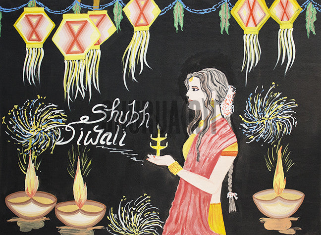 Celebration of Diwali