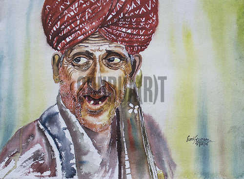 An Old Man with a Turban
