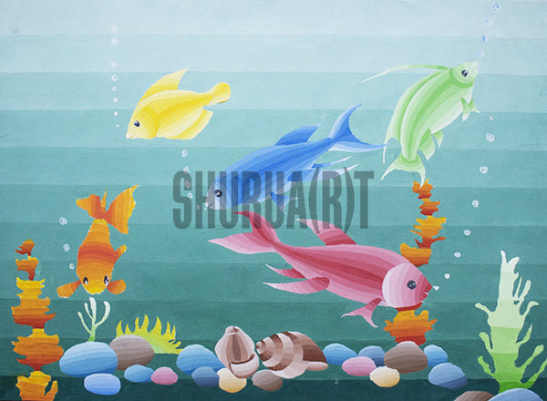 Fishes in an Aquarium