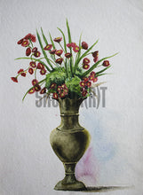 Load image into Gallery viewer, A Vase with Flowers