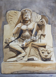 A Statue from Ancient India