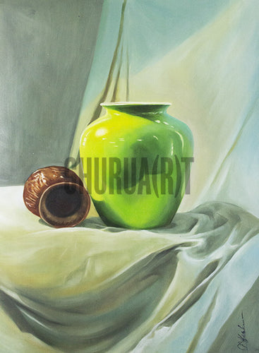 Still Life Painting of Objects