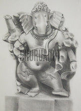 Load image into Gallery viewer, God Ganesha Statue at Bharat Kala Bhavan