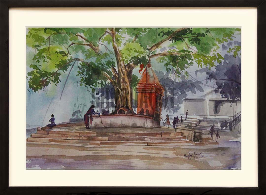 Painting of Assi Ghat