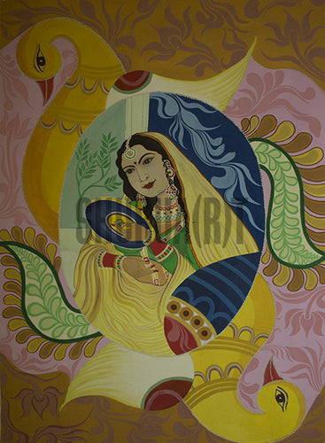 Painting of a Naayika