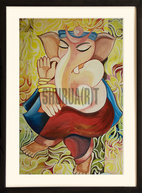 Painting of Ganesha