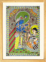 Load image into Gallery viewer, Radha & Krishna: Indian Miniature