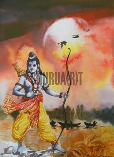 Painting of God Ram