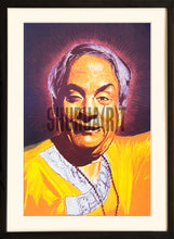 Load image into Gallery viewer, Painting of Kathak Maestro Pt. Birju Maharaj