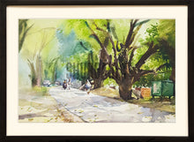 Load image into Gallery viewer, Painting of Banaras Hindu University Campus