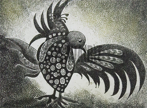 Painting of a Bird