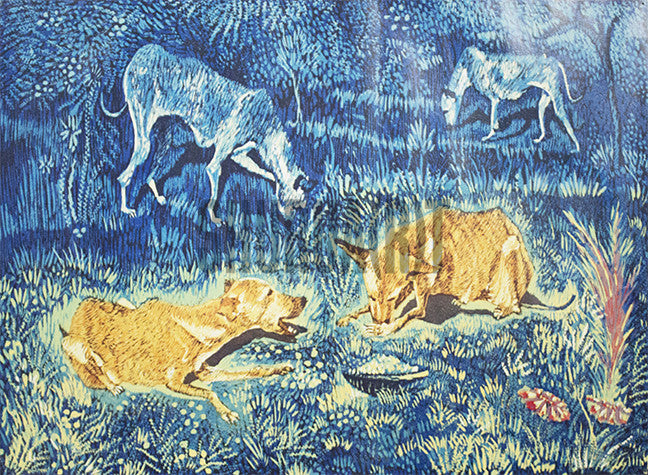 Painting of Stray Dogs